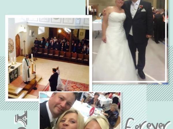 Hochzeitssängerin Kirchliche Trauung