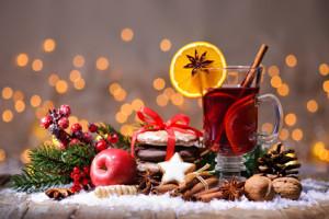 Weihnachtsmarkt Musik Glühwein