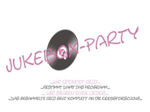 jukeboxsinging wir sammeln für die Krebsforschung