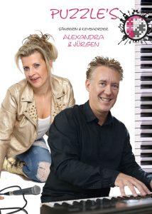 Kleine Band - Sängerin mit Keyboarder Jürgen Sartorius & Alexandra-Michaela 2night Partyband