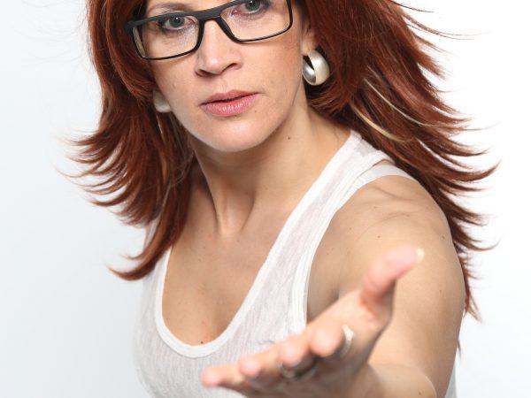 Andrea berg Sängerin mit Brille