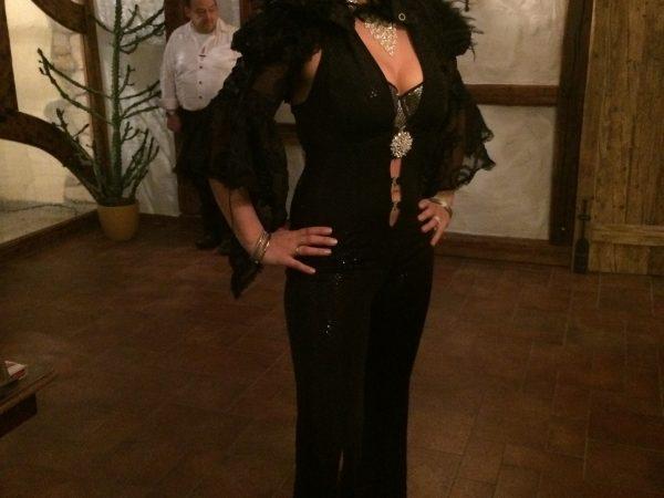 Gala Outfit Sylvester Sängerin